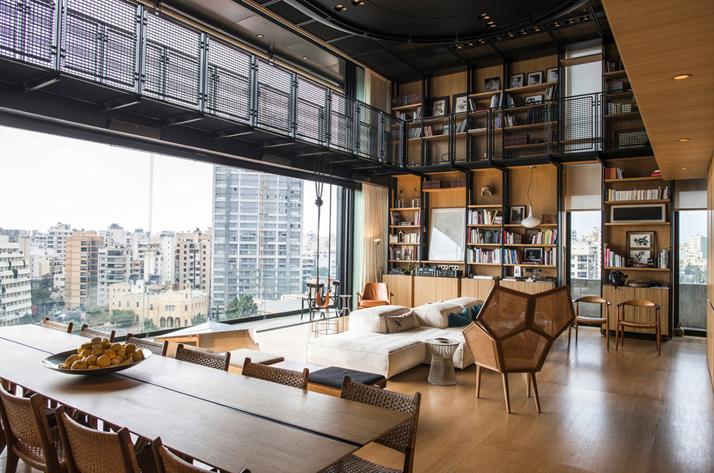 Residencia en Beirut construida sobre una estructura existente 3