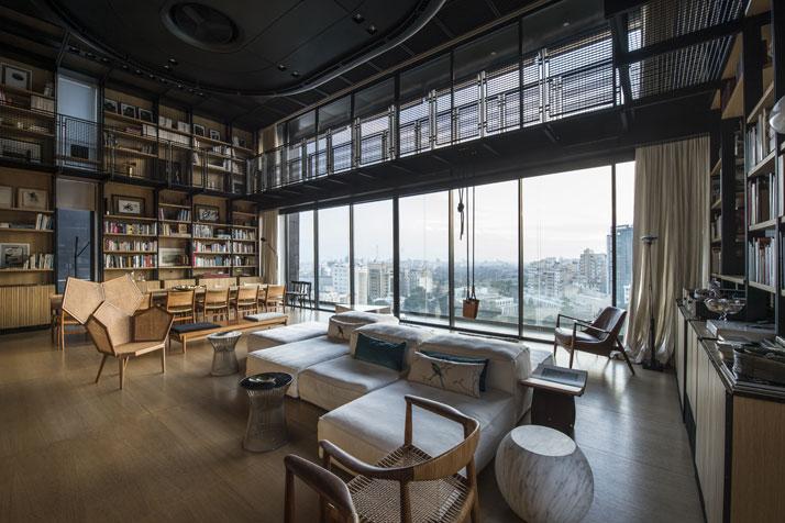 Residencia en Beirut construida sobre una estructura existente 4