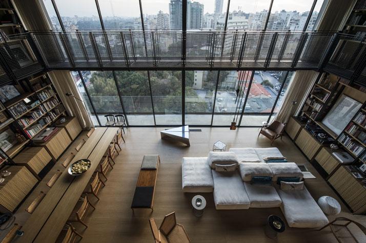 Residencia en Beirut construida sobre una estructura existente 5
