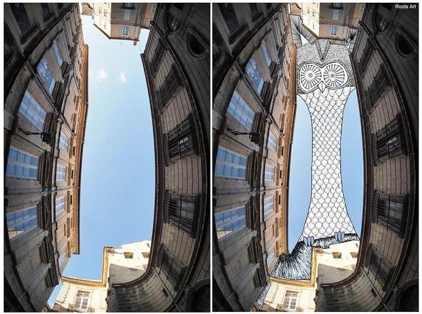 Sky Art cambiarás la forma en que miras la arquitectura 3
