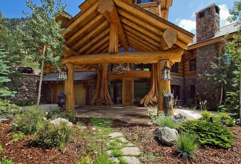 casa campo madera 7