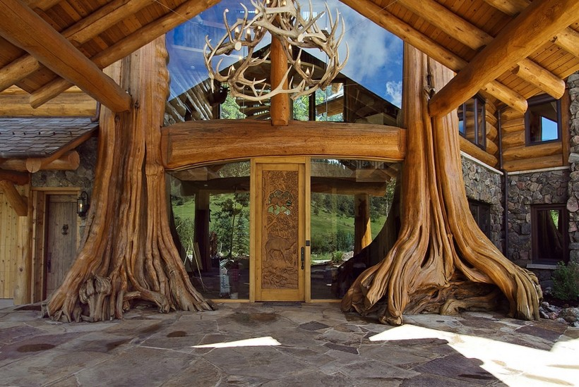 casa campo madera 8