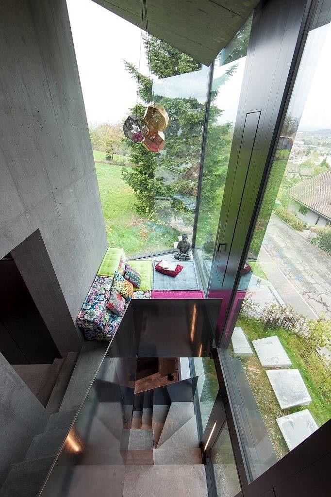 casa geometria hormigon 13