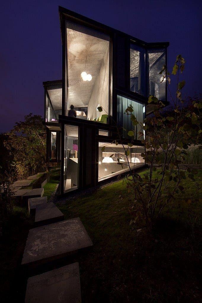 casa geometria hormigon 15