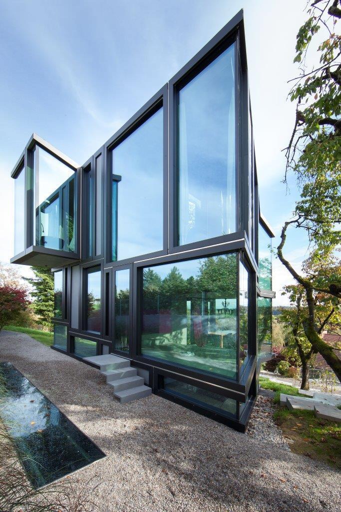 casa geometria hormigon 2
