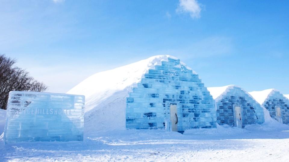Enigmático hotel hecho totalmente de hielo