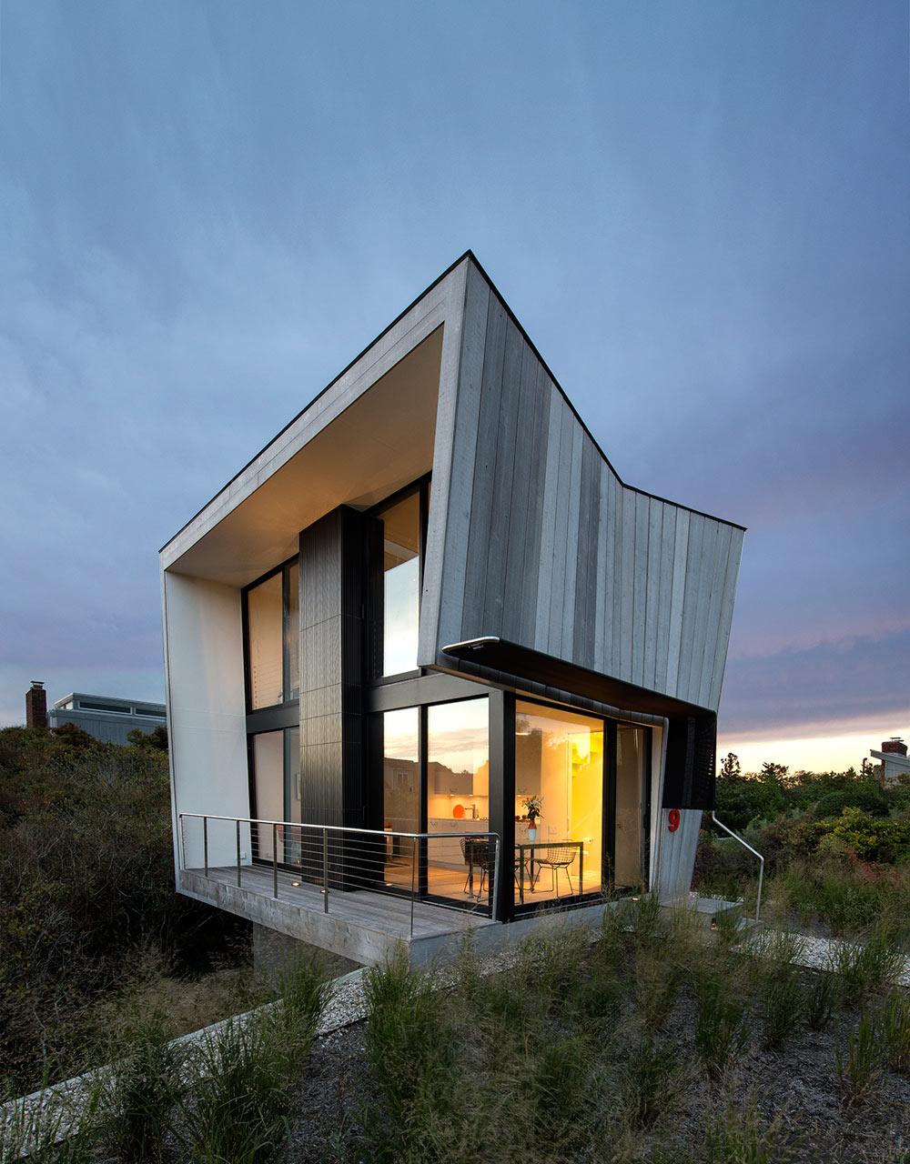 casa playa revestida de madera 1