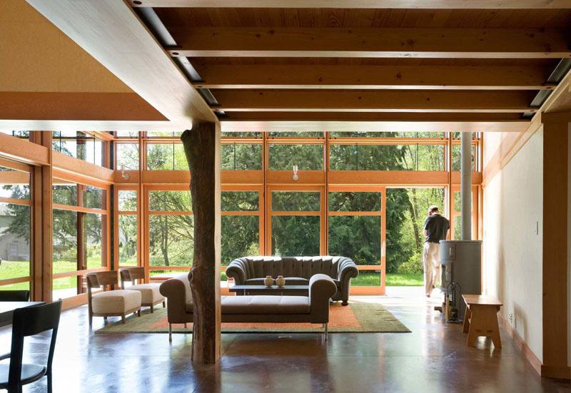 casa techo curvo 6