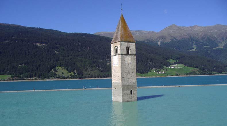 iglesia curon italia 1