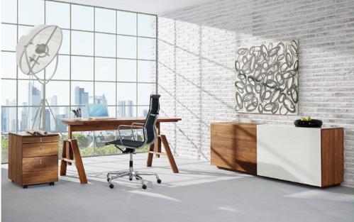 15 modernas oficinas pensadas para trabajar desde casa for Oficina moderna en casa