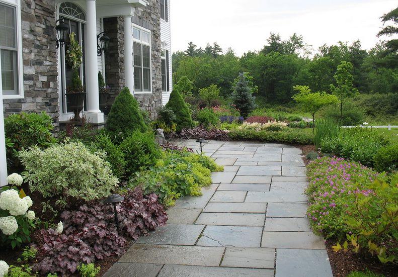 Decoracion patio exterior delantero 3 - Losetas para jardin ...