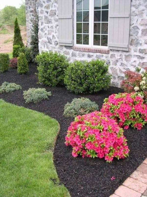 Decorar tu patio delantero con colores favoritos