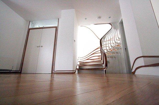 20 sorprendentes dise os de escaleras que te sorprender n - Escaleras para casas modernas ...