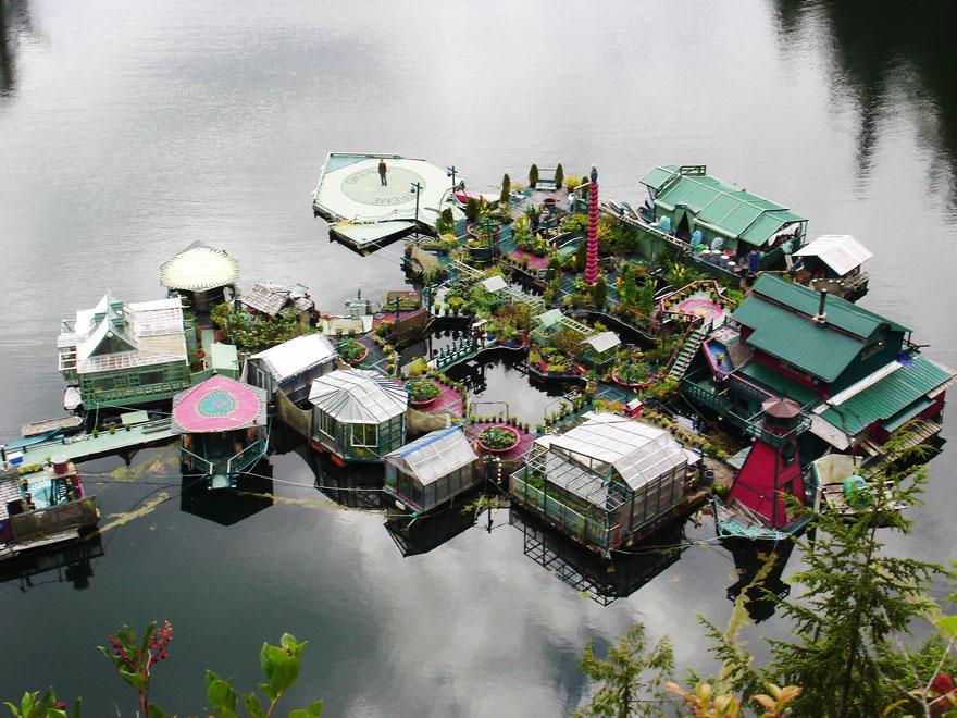 isla flotante vancouver 2