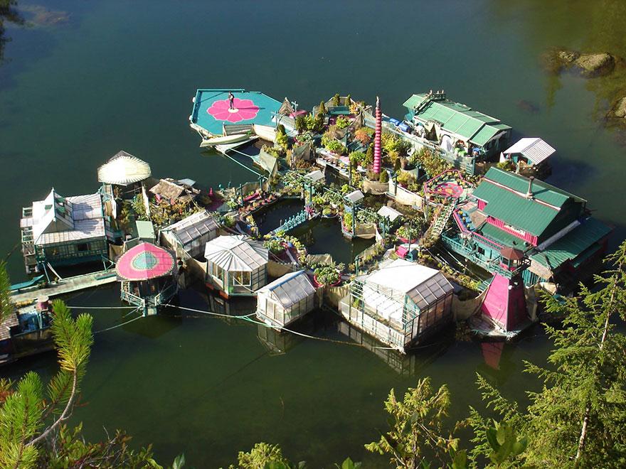 isla flotante vancouver 9