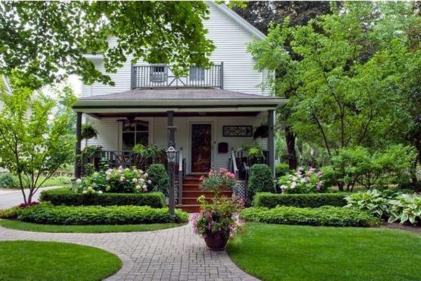 10 ideas para la decoraci n de tu patio delantero decoracion for Modelos de patios de casa