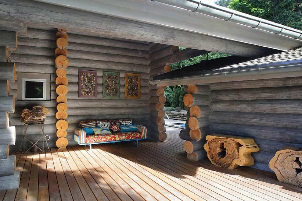 casa campo troncos madera 3