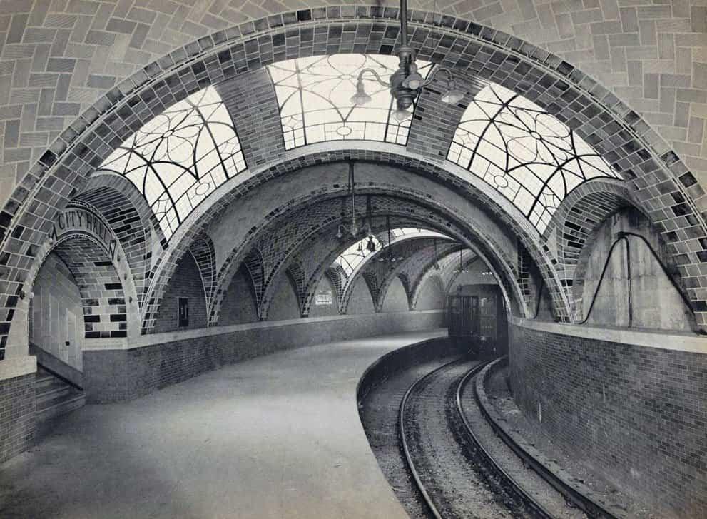 estacion de metro del pasado