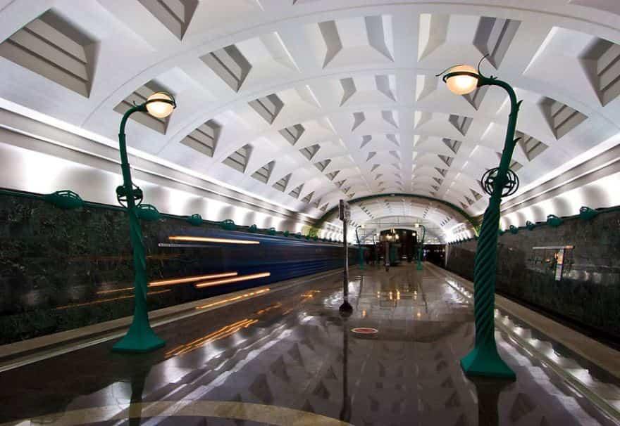 estacion de metro moderno 1