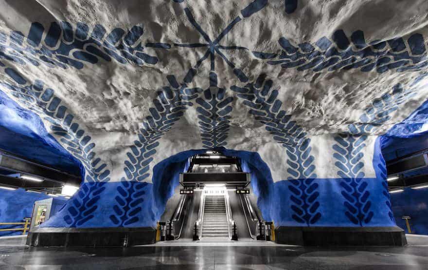 estacion de metro moderno 4