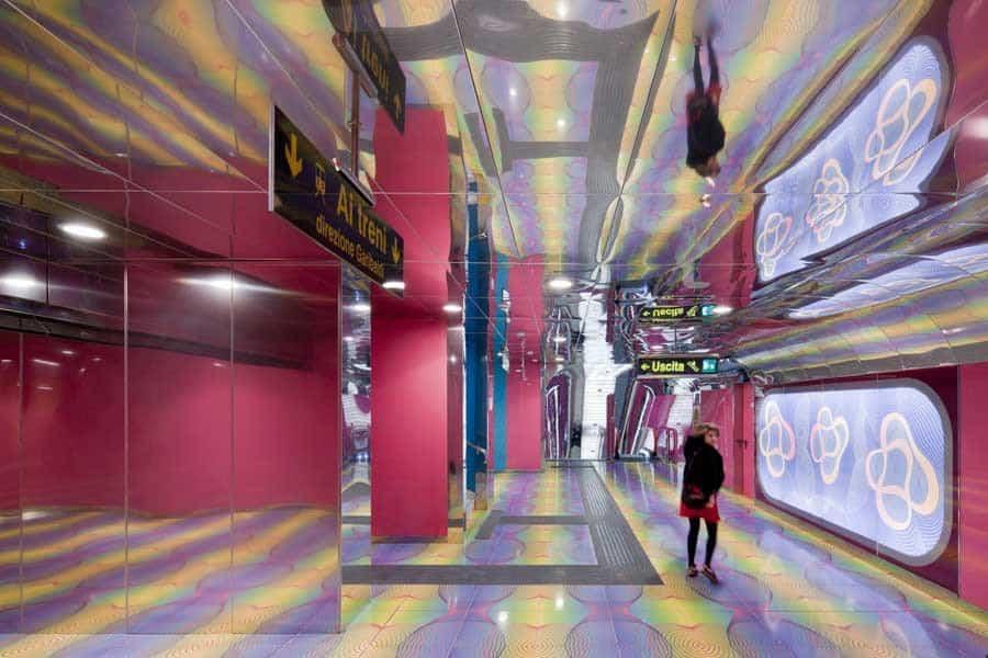 estacion de metro moderno 9