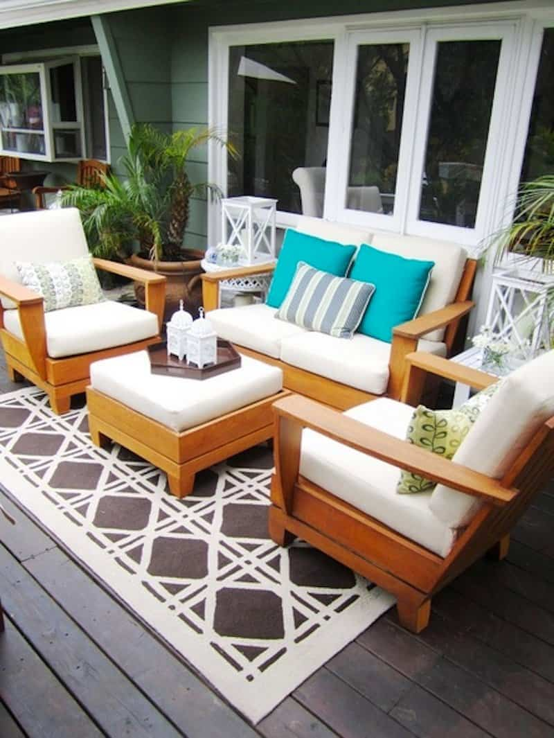 5 ideas inteligentes para rejuvenecer tu patio exterior