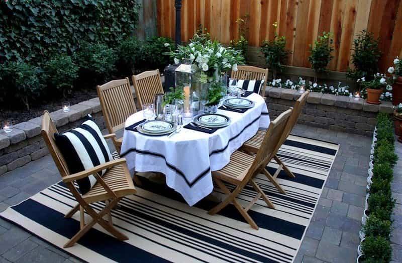 patio exterior - revestimientos para el suelo