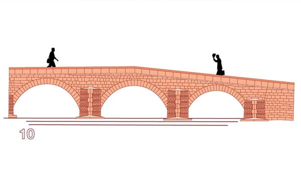 diseño puente 10 euros