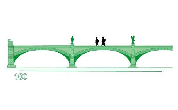 diseño puente 100 euros