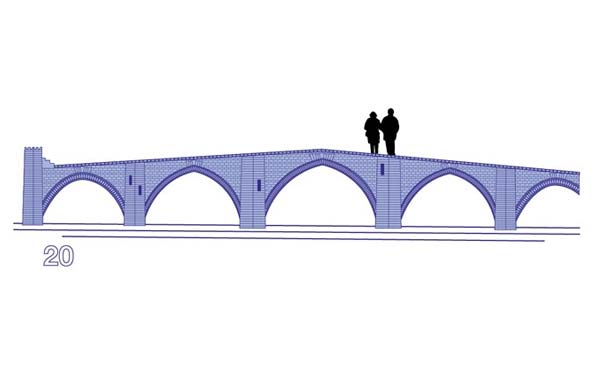 diseño puente 20 euros