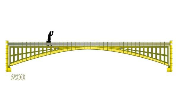 diseño puente 200 euros