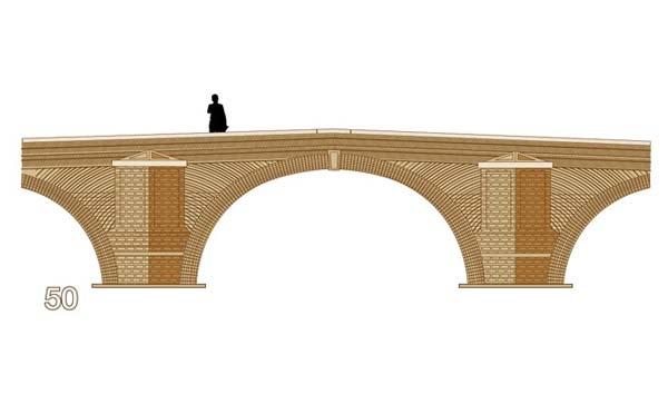 diseño puente 50 euros