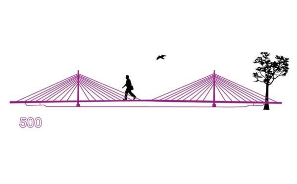 diseño puente 500 euros