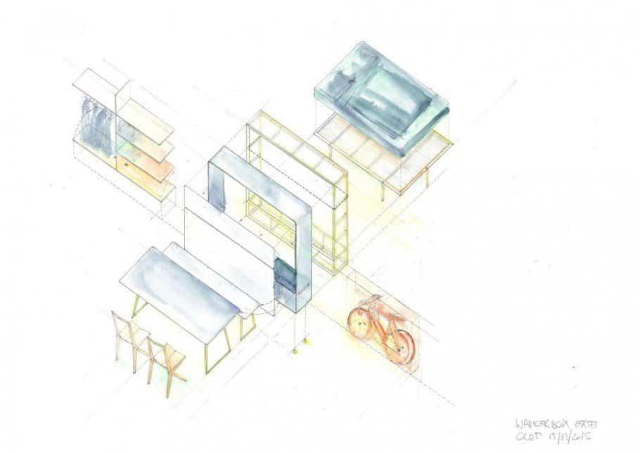 muebles dentro de una caja 4