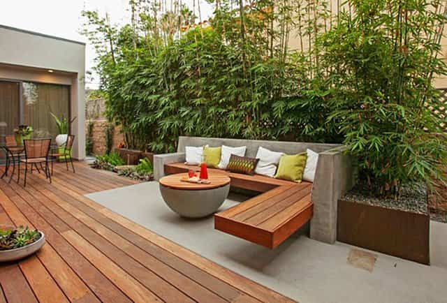 5 ideas inteligentes para rejuvenecer tu patio exterior for Madera para patios exteriores
