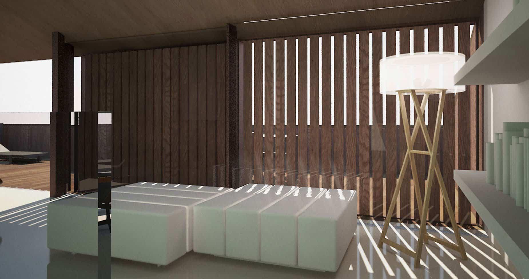 Casa en la huerta arquitectura cultivada arquitectura ideal for Interiores de viviendas