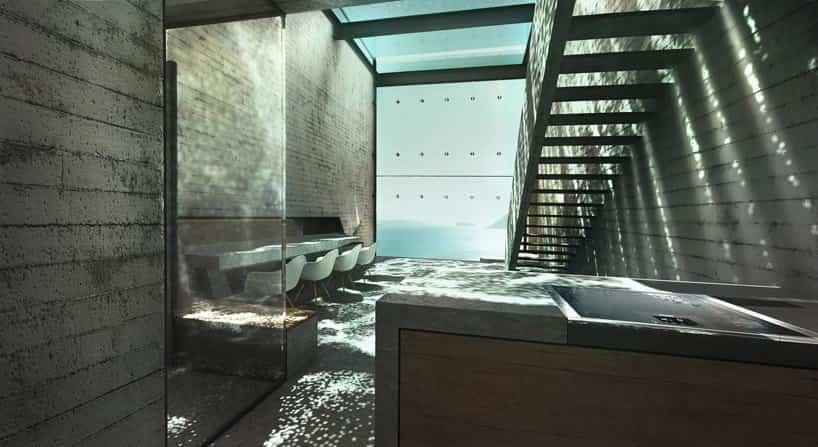 casa brutale acantilado 9