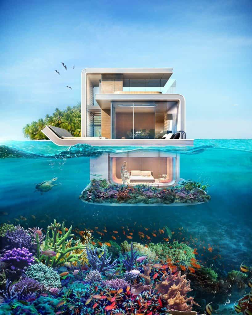 casas bajo el agua dubai 2