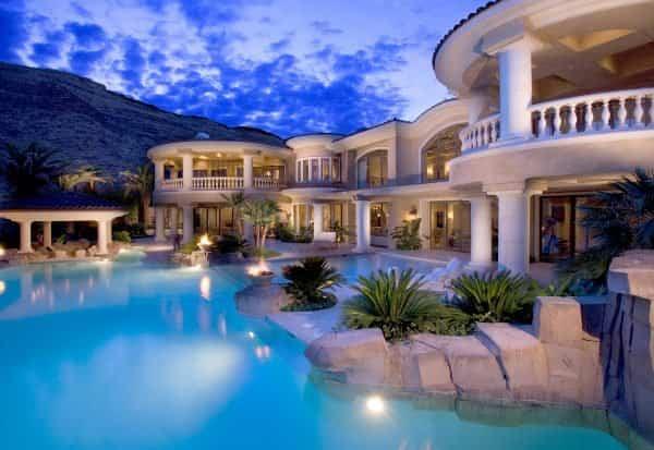 casas lujosas