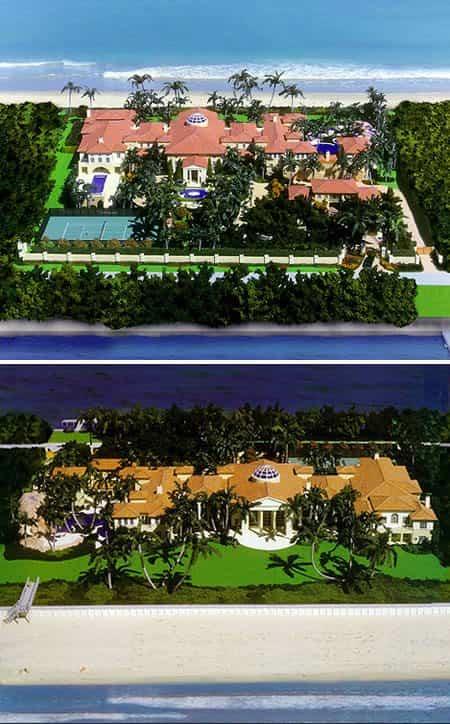 casas más lujosas - Manalapan Residence