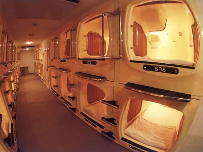 capsulas en tokio 1