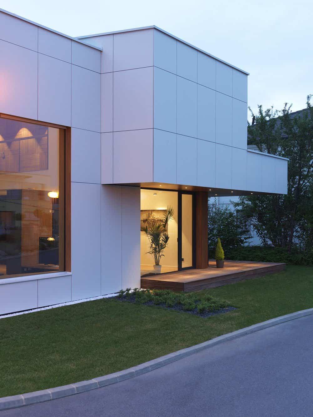 una casa de dos mdulos