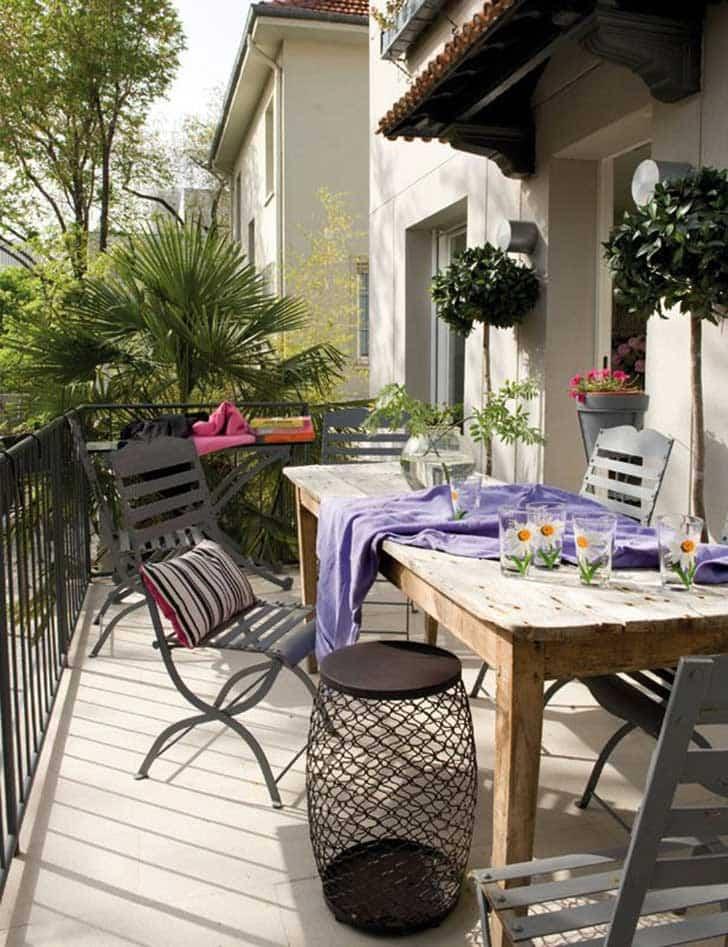 15 maravillosas ideas para decorar el balc n de tu casa for Decoracion de balcones