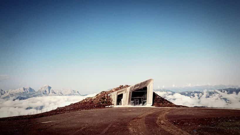 museo en los alpes italianos 6