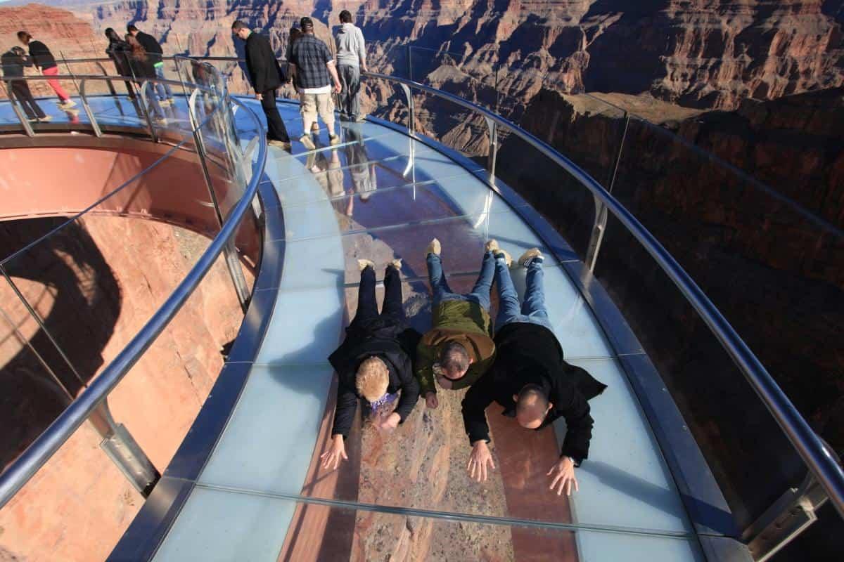 Puente de cristal Gran Cañón del Colorado