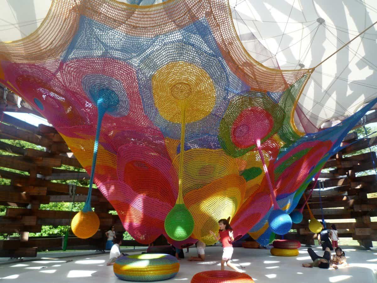 parque infantil en hakone japn