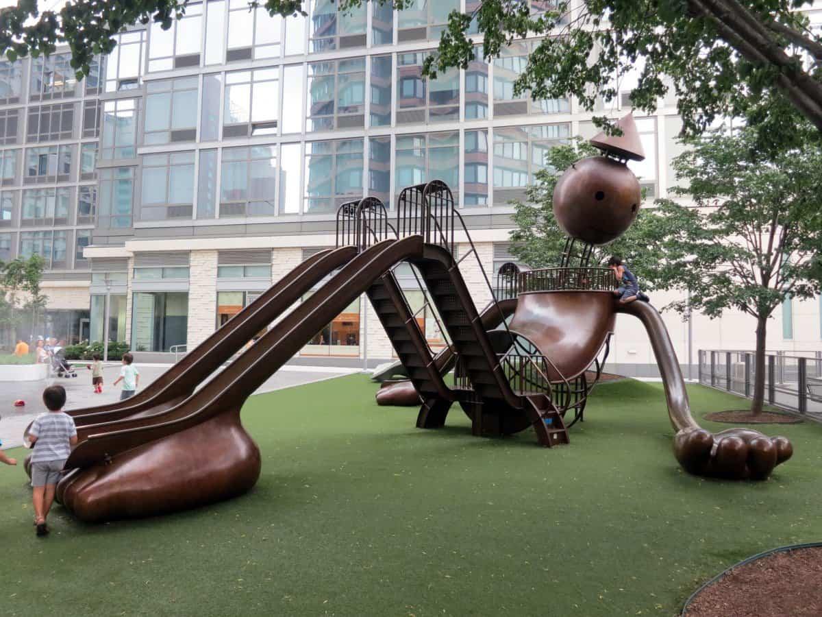 parque infantil Silver Towers
