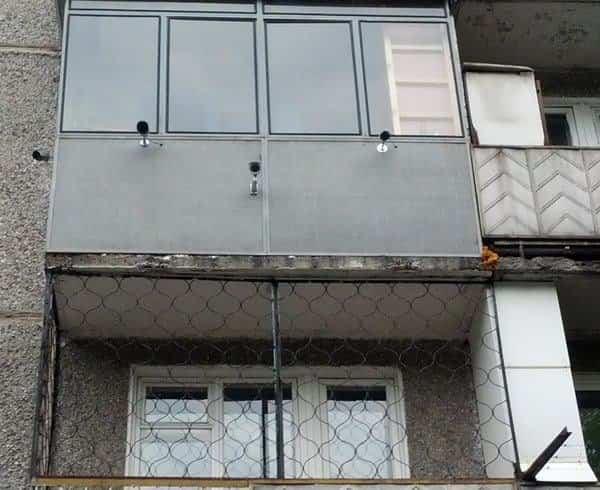 balcones diseñados en Rusia máxima seguridad