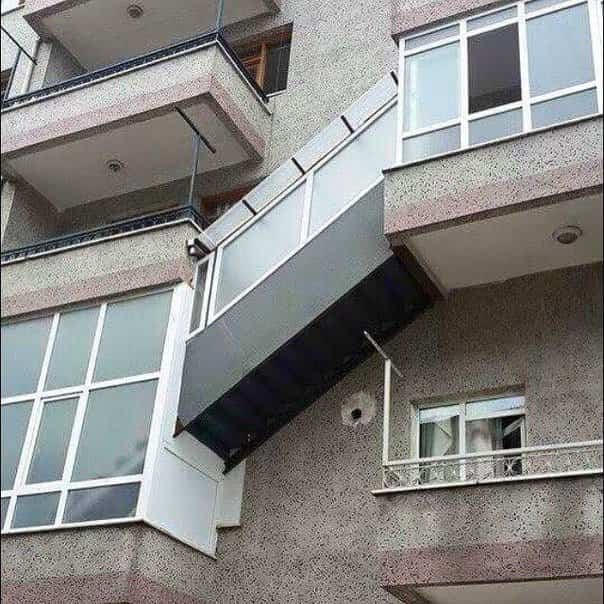 balcones diseñados en Rusia duplex