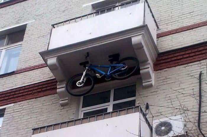 balcones diseñados en Rusia maximizar huecos